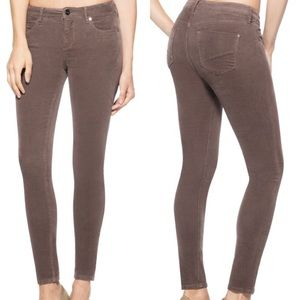 NWT Classic Skinny Taupe Corduroy Jeggings